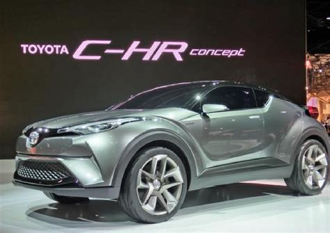 suv toyota chr in42u the new toyota c hr