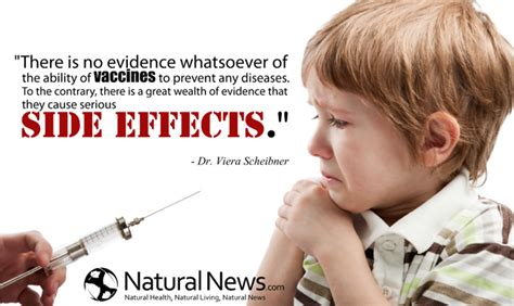 vaccine side effects there is no evidence whatsoever of the ability of vaccines naturalnews