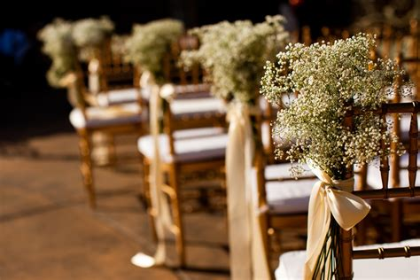 Decorations For Chairs At Wedding Ceremony by Wedding Ceremony Aisle Decorations Wedding Ceremony