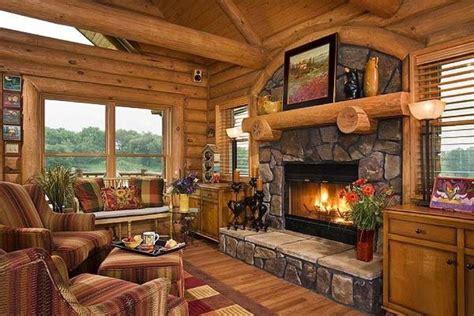 Love Fireplace Beautiful Tree Houses Log Cabin Homes