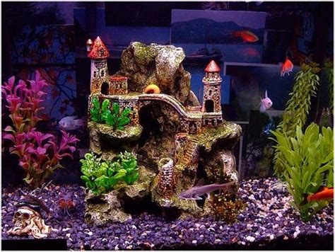 Decorations For A Fish Tank by Aquarium Decor Home Decorating Ideas