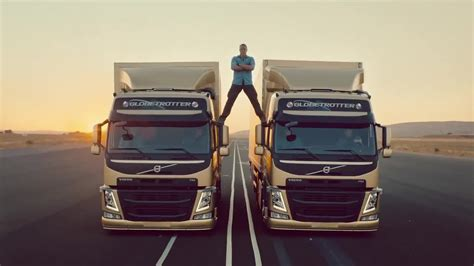 the volvo commercial volvo trucks quot the epic feat van damme live test 6