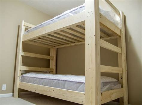 Easy Bunk Bed Plans 25 Best Ideas About Bunk Bed Plans On Pinterest Loft Bed For Boys Room Bunk Beds And