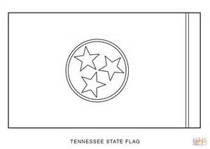 Tennessee State Flag Coloring Page tennessee state flag coloring page free printable