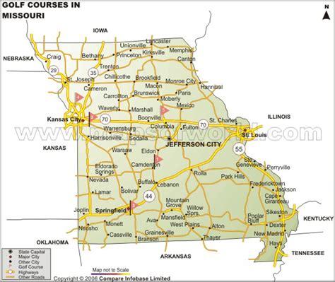 map of missouri usa missouri usa images