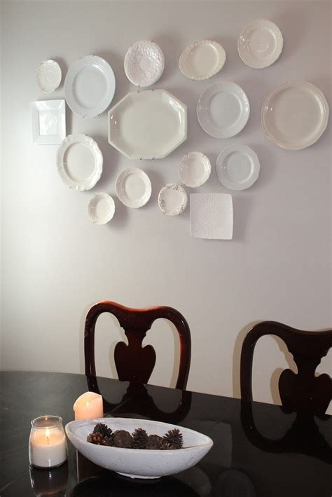 plate wall decoration for a dining room decoration ideas