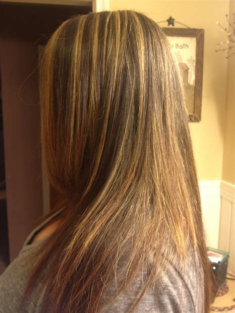 foil highlights for brown hair blonde foils on dark brown hair with ash toner