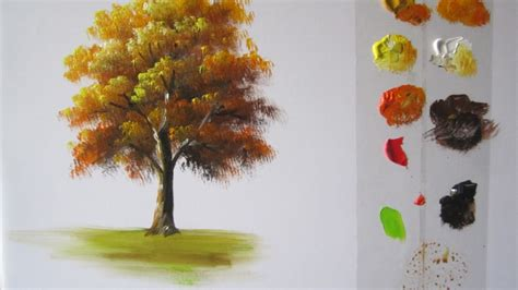 acrylic painting how to do it how to paint a tree in acrylics lesson 1