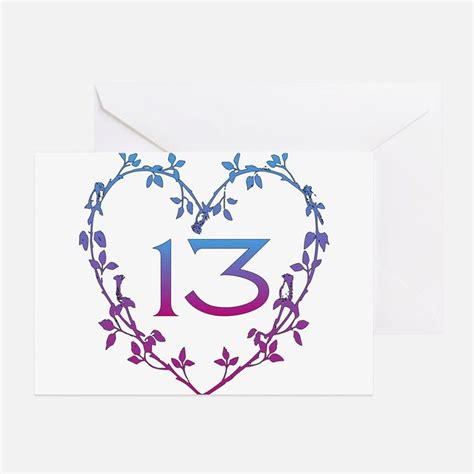 13 birthday card template 13 year birthday greeting cards card ideas sayings