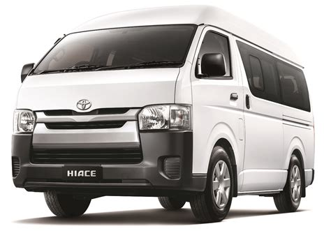 toyota hiace truck 2015 toyota hiace gets improved safety from rm88k