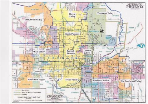 zip code map for phoenix map of downtown phoenix az zip codes pictures to pin on
