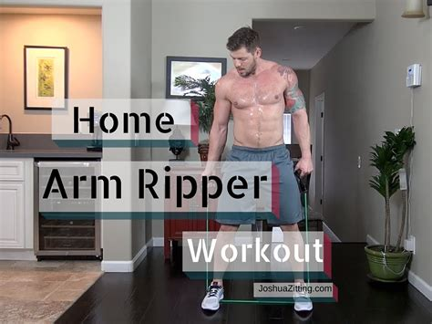 home arm workouts without weights are