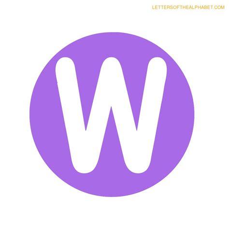 printable letters circle circle purple classroom display alphabet letters