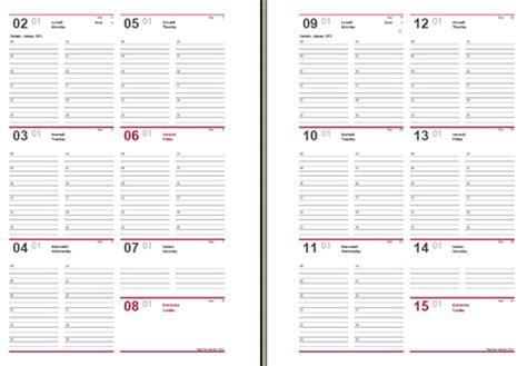 sle daily agenda agenda 2012 settimanale da stare in pdf