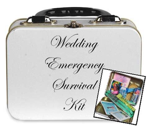 Wedding Emergency Kit by Menfolk Behold The You Created Wedding