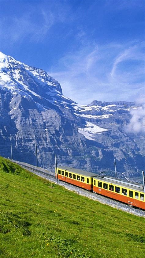 beautiful switzerland landscape wallpaper
