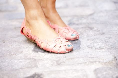 Wedges Pastel Series shoes sandals mini wedges coral shoes low heels
