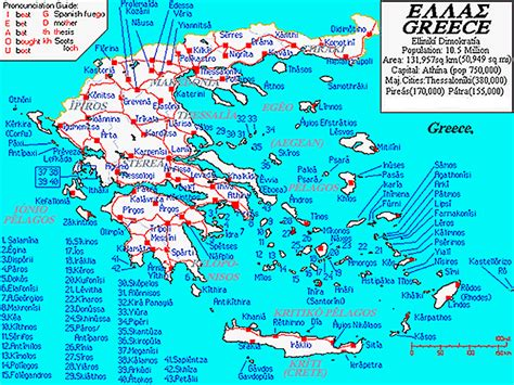 map of greece islands islands at a glance the ionian islands