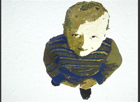 wandmalerei mit schablone auftragsmalerei kwast berlin - Schablone Wandmalerei