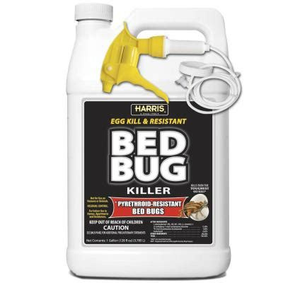 what kills bed bugs and their eggs harris 1 gal ready to use egg kill and resistant bed bug