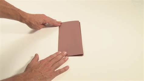 Fold Paper Into - 5 ways to fold a paper into thirds wikihow