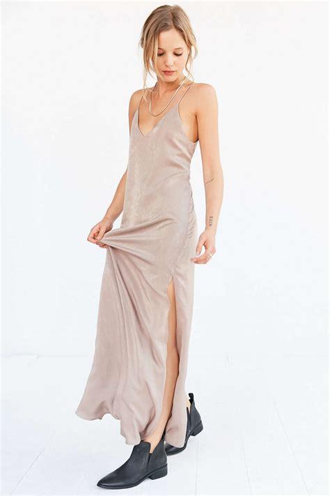 the dress 5 ways to wear the trendiest 90 s comeback the slip dress