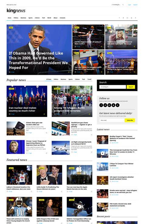 html5 templates for news website 15 best flexible multipurpose html5 and css3 website