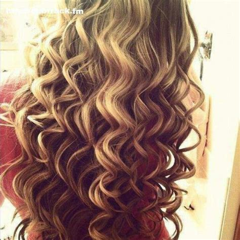 getting hair curled and color perfect wand curls hair pinterest