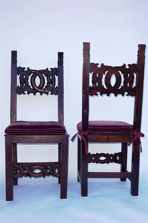 Dining Room Chair Cushions For Sale 19th Century Dining Room Chairs With Cushions For