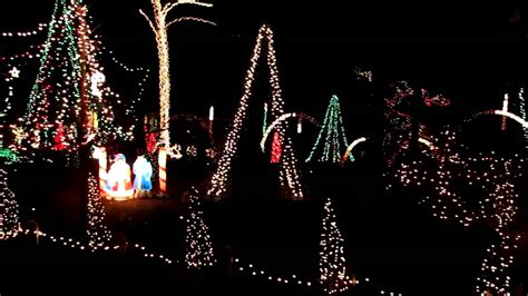 lake myra christmas lights wendell n c youtube