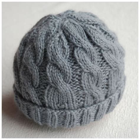chunky cable knit hat pattern free 25 best ideas about newborn knit hat on knit
