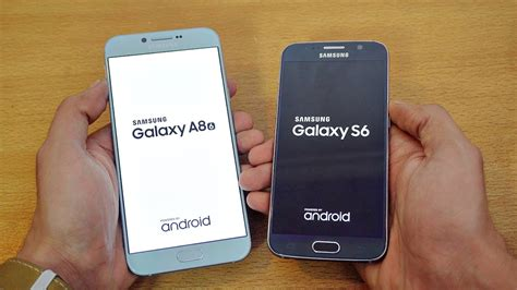 Samsung S6 Vs A8 samsung galaxy a8 2016 vs galaxy s6 speed test 4k