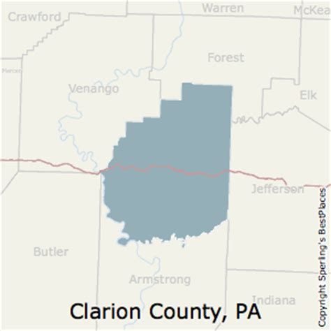 Clarion Of Pennsylvania Mba Cost by Best Places To Live In Clarion County Pennsylvania