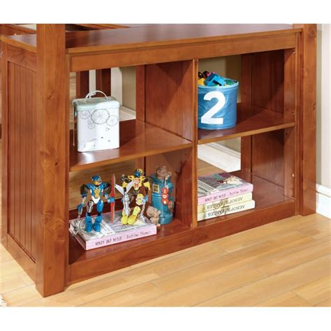Oak Bunk Beds With Desk Furniture Of America Franklyn Loft Bed With Desk In Oak Idf Bk265a