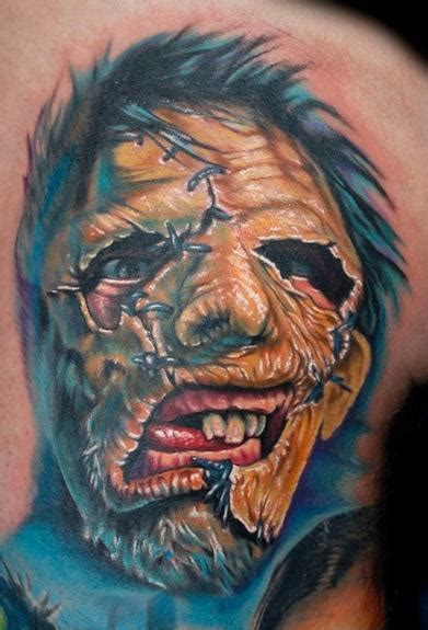 leatherface tattoo leatherface from quot the chainsaw quot by
