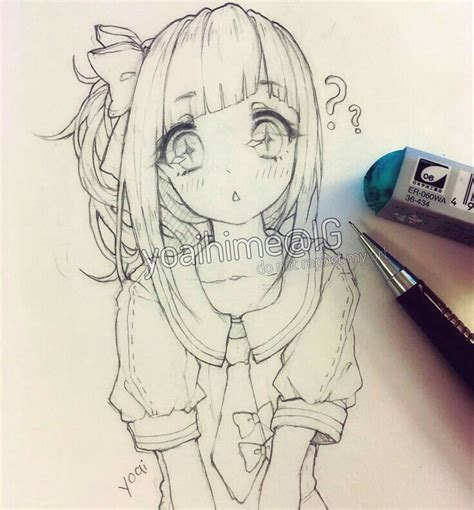 doodle draw anime best 20 anime drawings ideas on kawaii