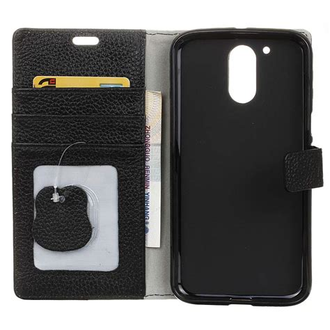 Leather Motorola Moto G motorola moto g 4th plus leather black