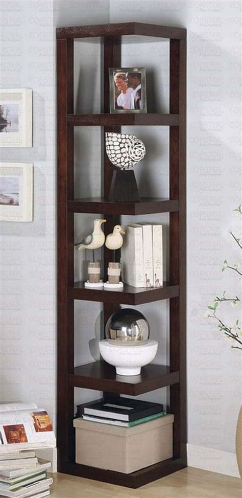 Living Room Shelf Unit Best Corner Shelves Hometone