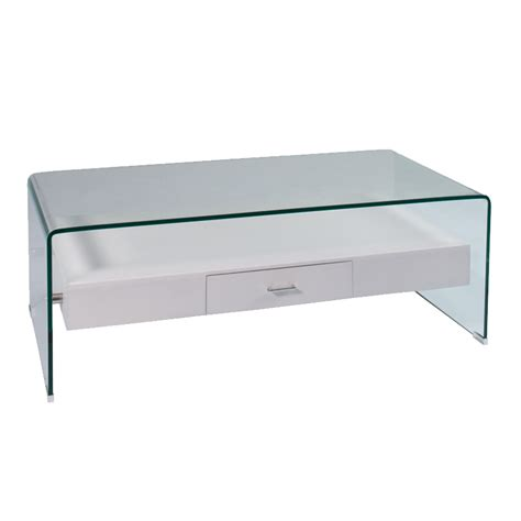 tempered glass coffee table 120x60cm 12mm tempered glass coffee table with drawer decofurn factory shop