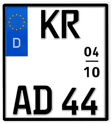 Motorrad Kenzeichen by Eu Motorrad Kennzeichen 180x200mm Heisesteff De