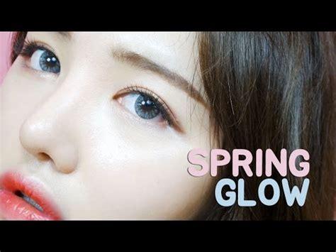 tutorial makeup korea 2014 eng spring glow makeup daddoa youtube