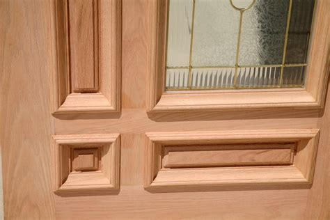 Caoba Doors by Caoba Doors Model 850tg Oak Brass Came