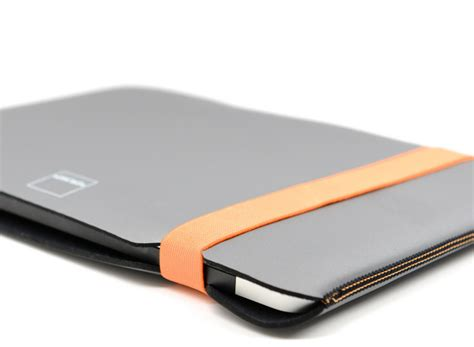Acme Made The Sleeve Macbook Pro 13 Inch Matte Black acme made sleeve for macbook pro 13 quot grey orange