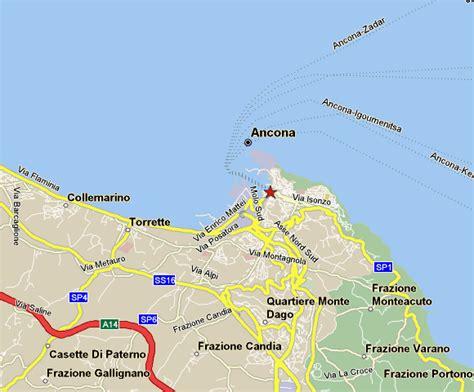 map of ancona italy ancona map