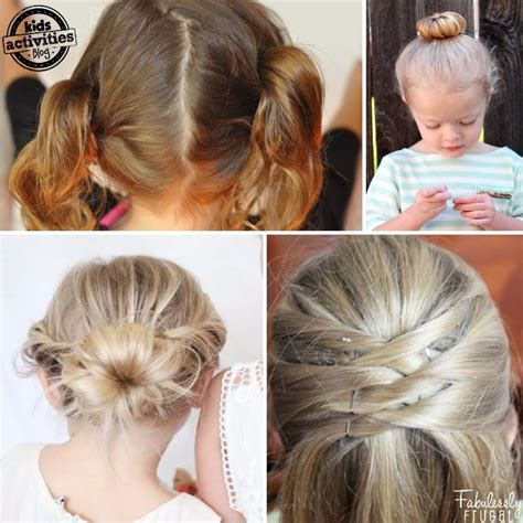 easy go lazy girl hairstyles that make you look awesome 17 lazy hair ideas for girls kids activities