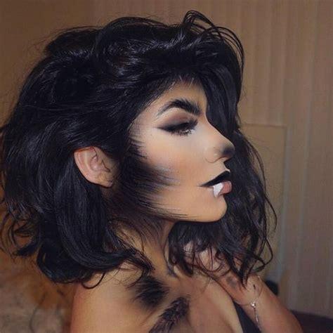 gorgeous halloween makeup ideas  women