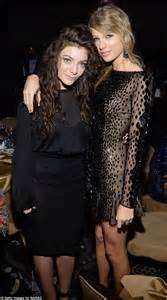 lorde with katy perry despite taylor swift s alleged feud with the popstar daily mail online