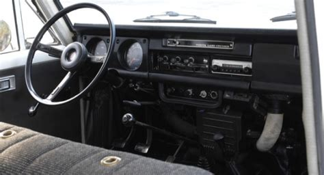Fj55 Interior by 1972 Toyota Land Cruiser Fj55 White Wagon For Sale Engine 2017 2018 Best Cars Reviews