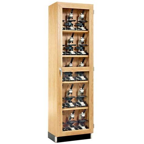 laboratory glassware storage cabinets diversified woodcrafts 15 microscope storage cabinet with