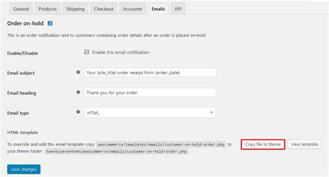 woocommerce customize receipt email template how to send custom emails to your woocommerce customers